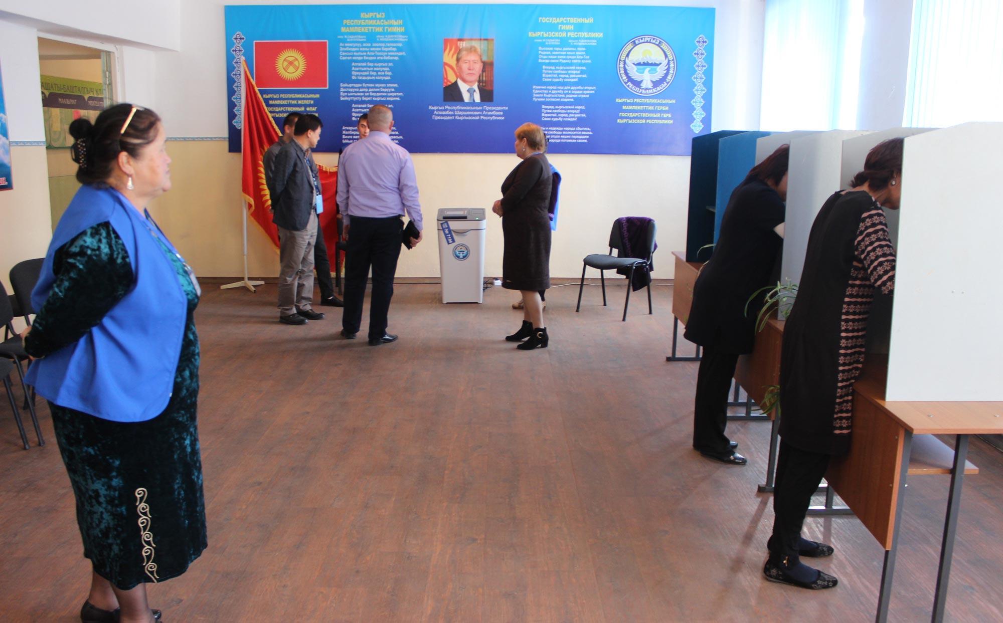 Выборы в Кыргызстане / АКИpress