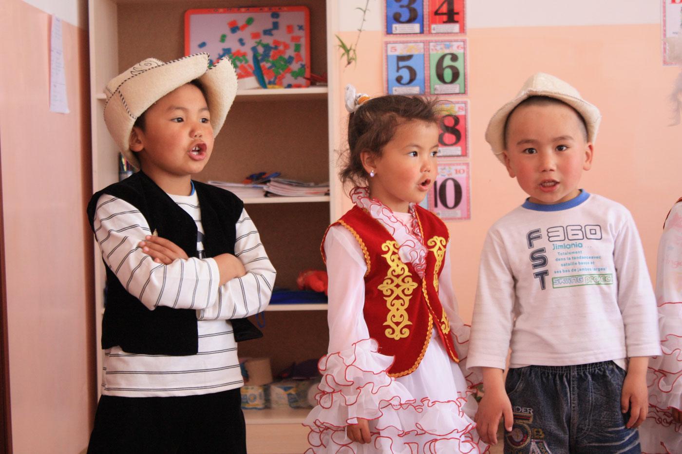 Детский сад в Тамчы на Иссык-Куле