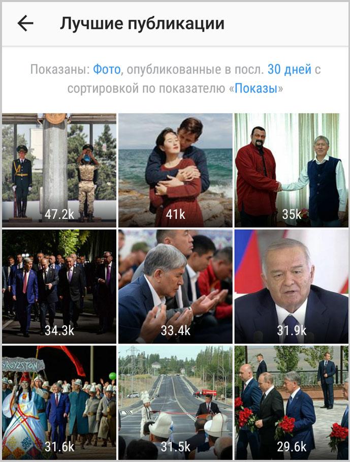 Лучшие публикации АКИpress в Instagram