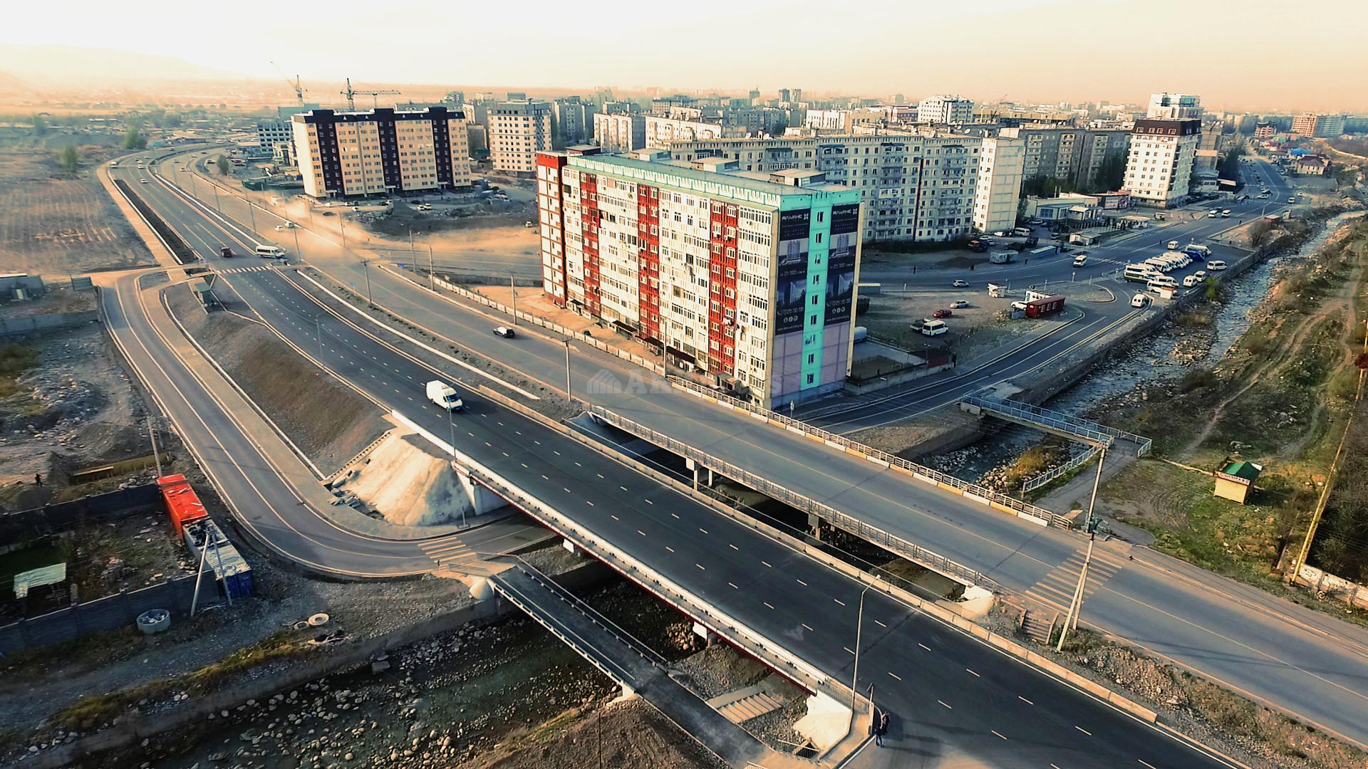 Мост на Токомбаева