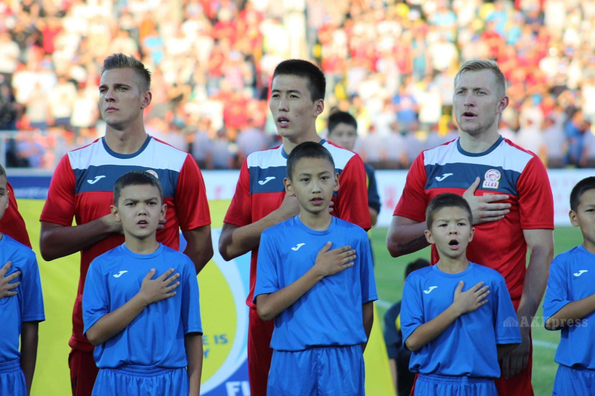 Гимн Кыргызской Республики. Фото: АКИpress