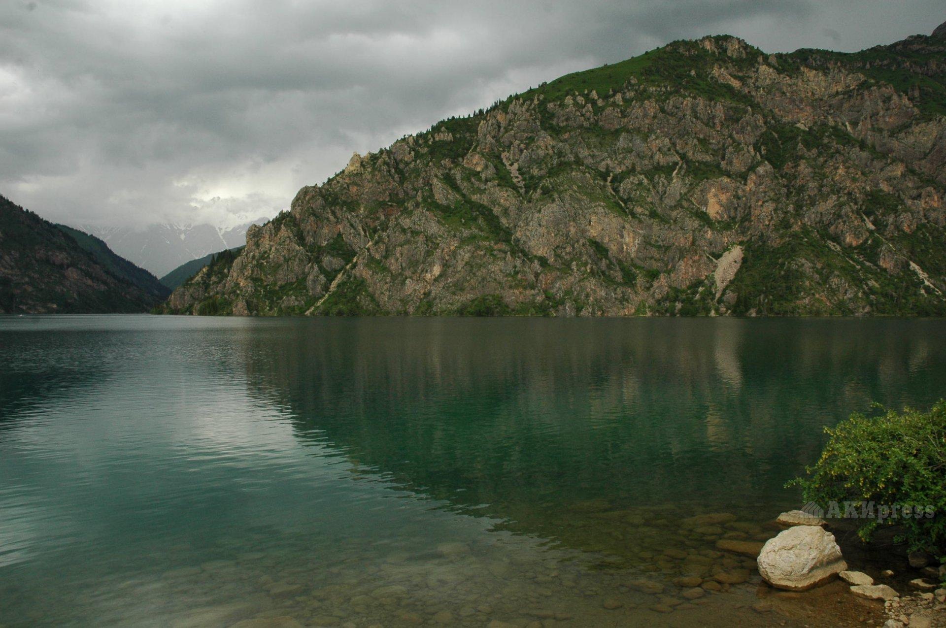 Озеро Сары-Челек / АКИpress