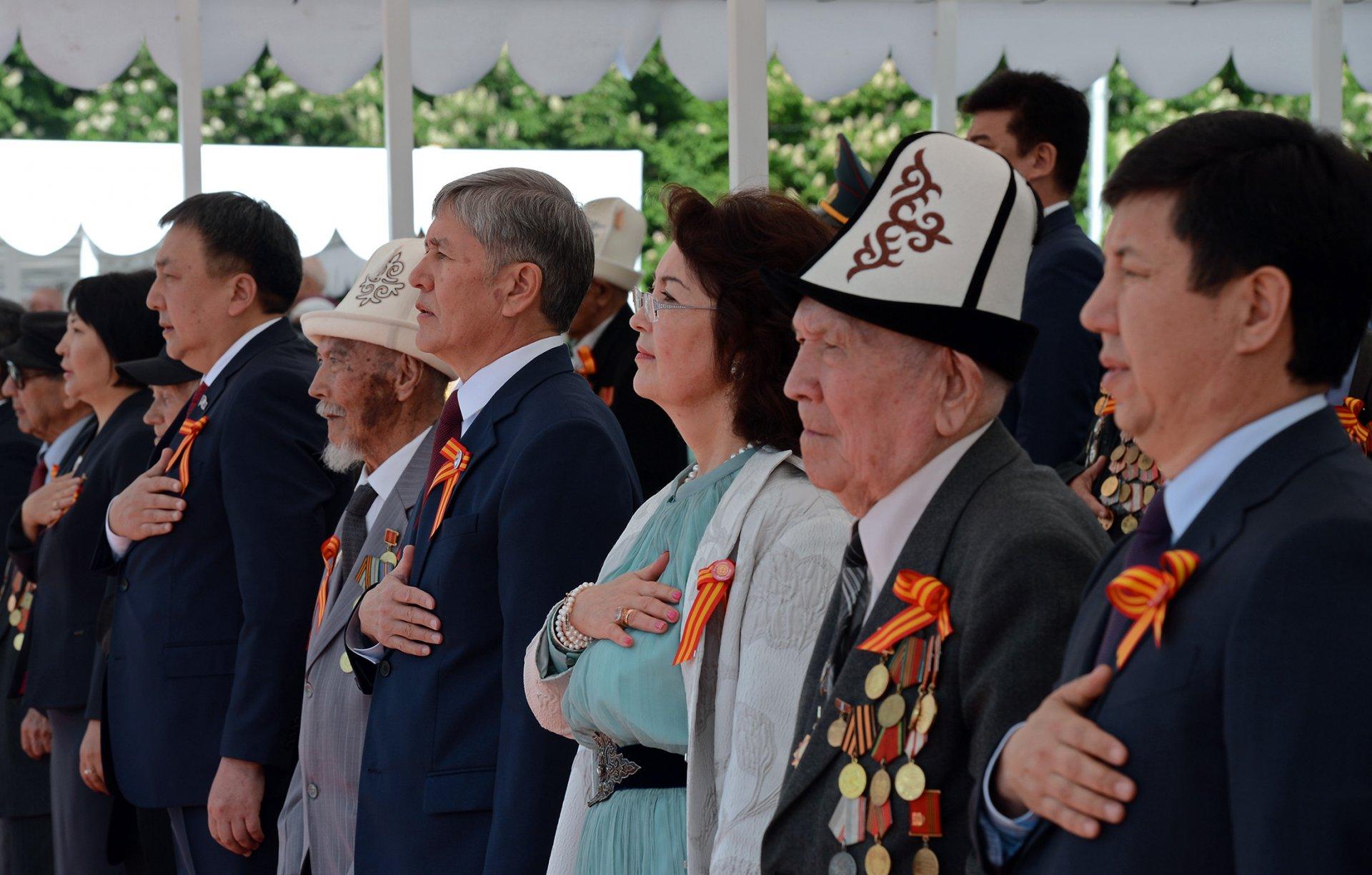 Гимн Кыргызской Республики. Фото: С.Досалиев