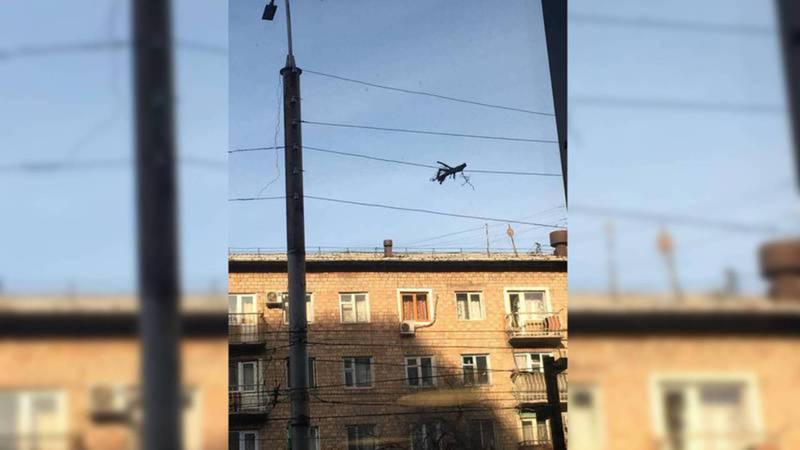Ветка с кабеля на Киевской-Уметалиева будет убрана когда спецтехника освободится, - мэрия