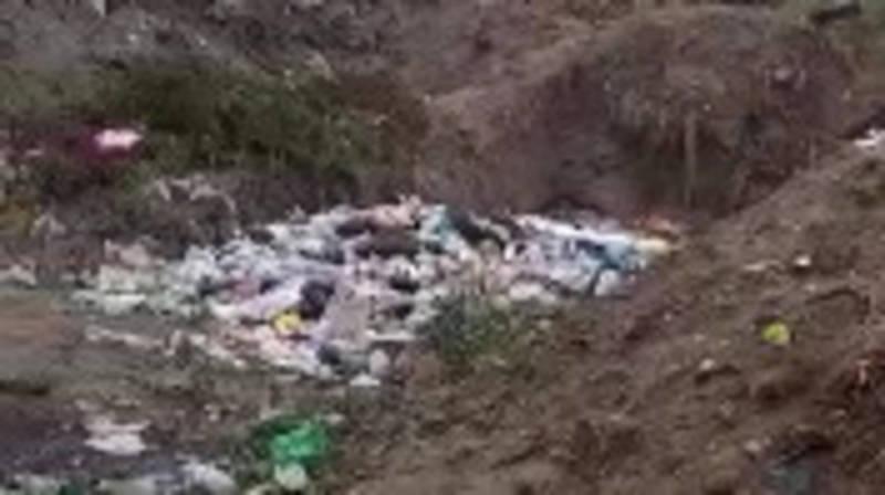 В селе Булан-Соготту на пустыре организовали свалку, - местный житель