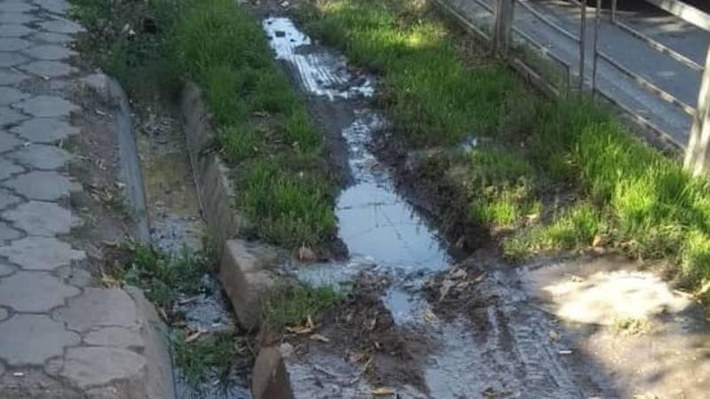 На Пишпеке протекает канализация, - горожанин