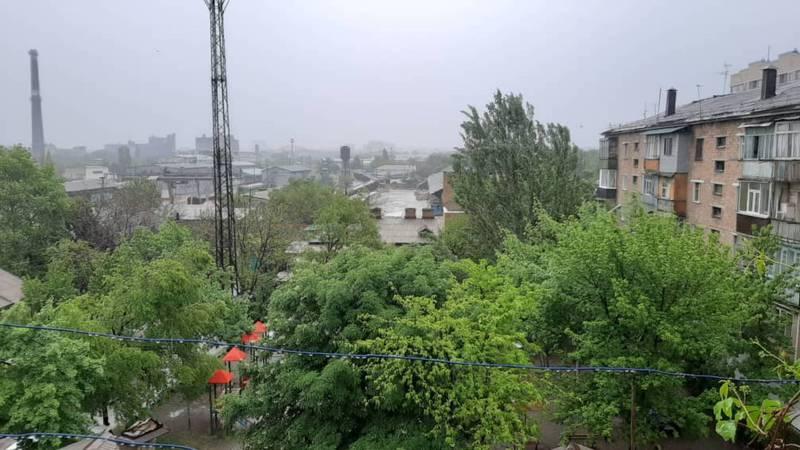 Дождь в Бишкеке. Видео и фото горожан