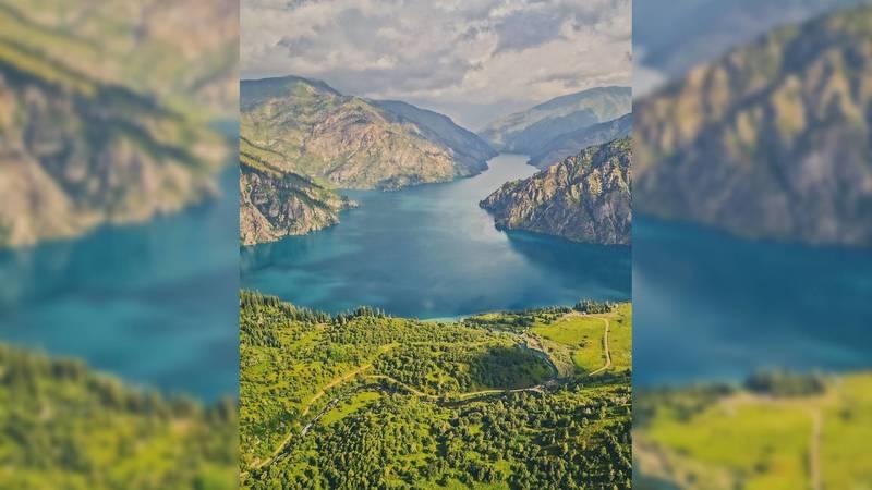 Прекрасное озеро Сары-Челек в объективе горожанина. Фото