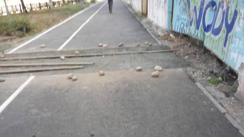 Почему перерыли велодорожку по проспекту Айтматова? - горожанин