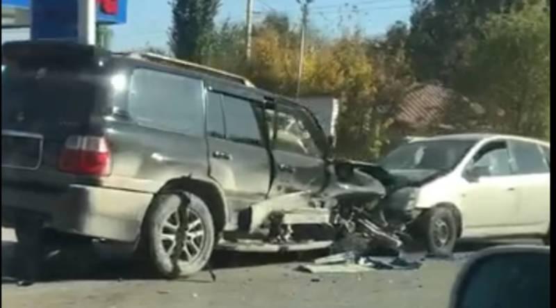 В селе Новопокровка столкнулись 4 автомобиля (видео)