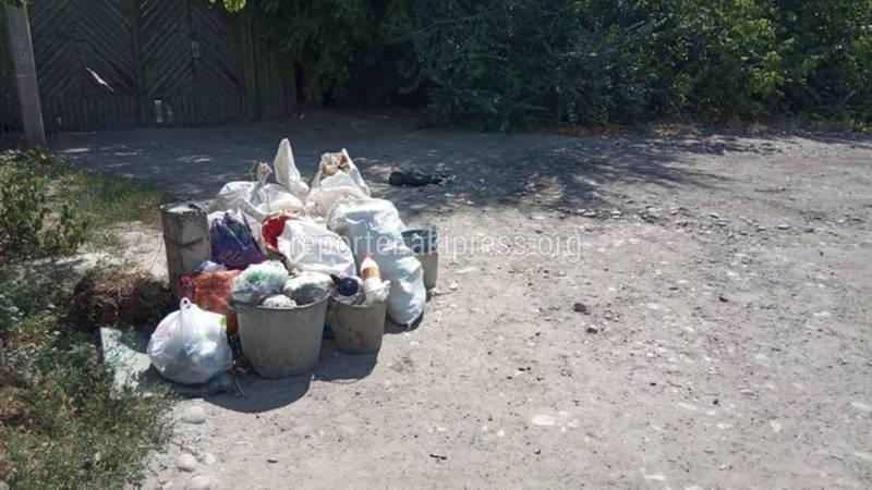 Жителям Токмака на улице Фурманова необходимо заключить договор с ККП, - мэрия г. Токмок