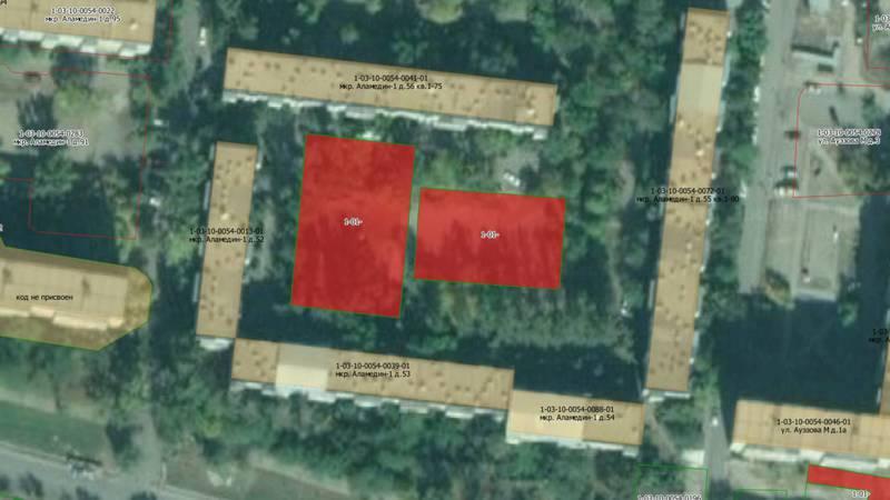 В микрорайоне Аламедин-1 дома лишаются внутридворовых участков, - житель