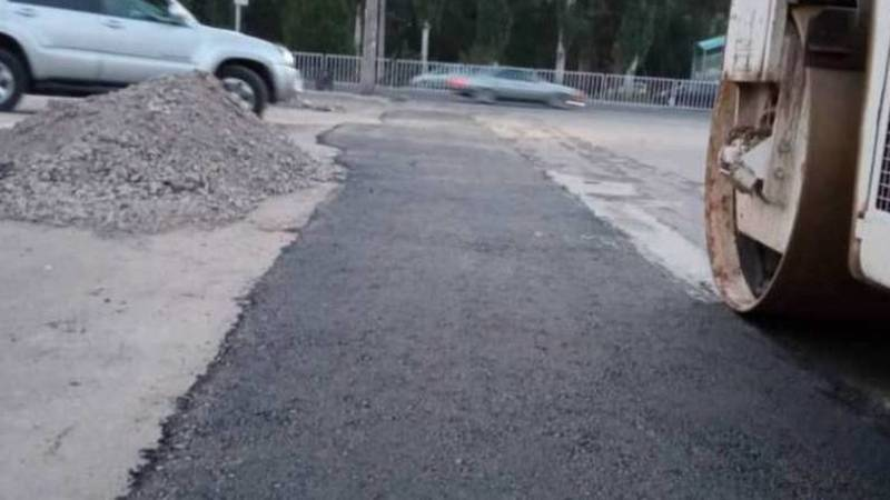 По ул.Менделеева начали восстановление дорожного покрытия