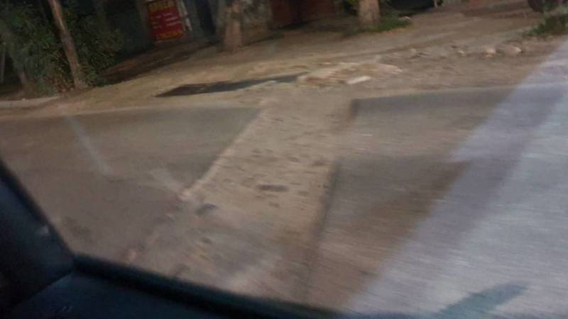 На ул.Льва Толстого перерыли дорогу, но не заасфальтировали обратно, - очевидец