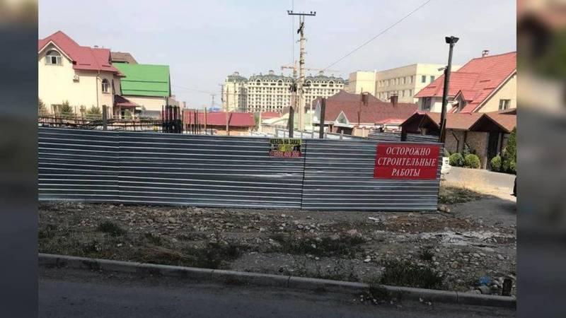 Законно ли строят многоэтажный дом на Южной магистрали? - бишкекчанка