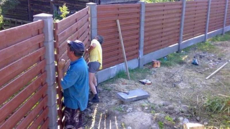 Можно ли на придомовом участке в селе Аламедин ставить 2-х метровый забор? - местный житель