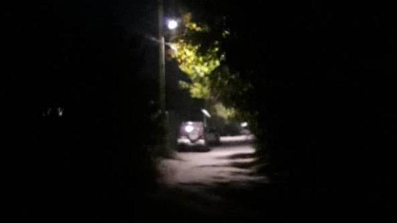 На ул.Дачной возле интерната для слабослышащих не работают фонари, - горожанин