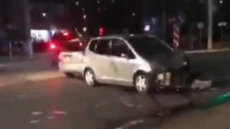 ДТП на Южной магистрали. Видео с места аварии