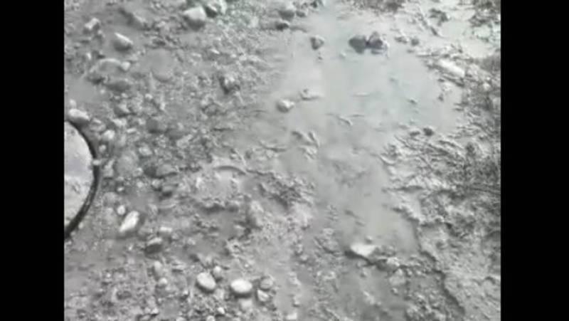 Утечка питьевой воды в селе Достук устранена