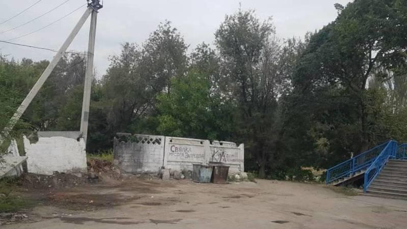 Мусор на ул.Усенбаева убрали