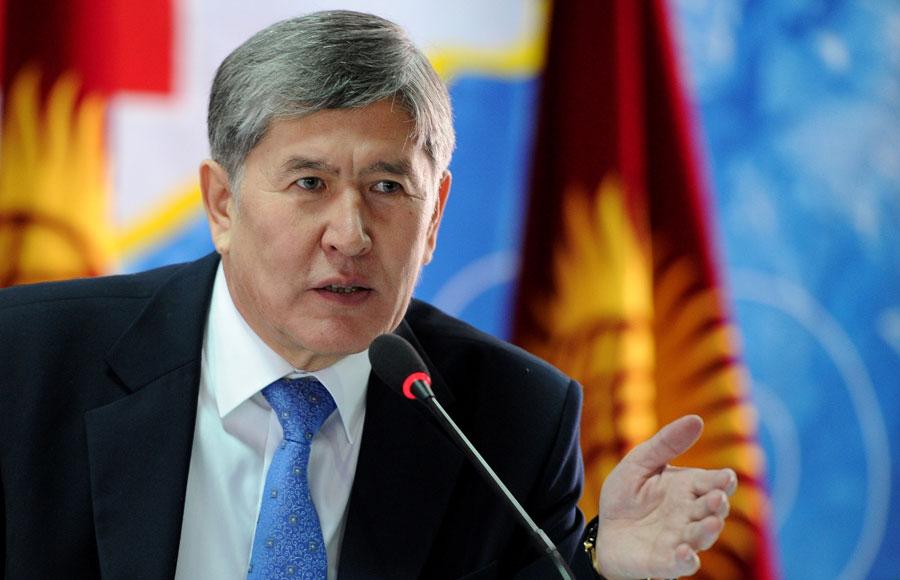 Алмазбек Атамбаев / Пресс-служба президента
