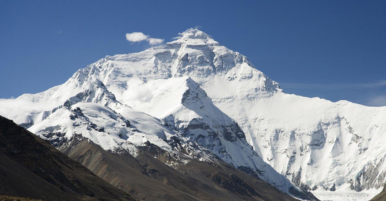 Северная стена Эвереста. Вид со стороны Китая