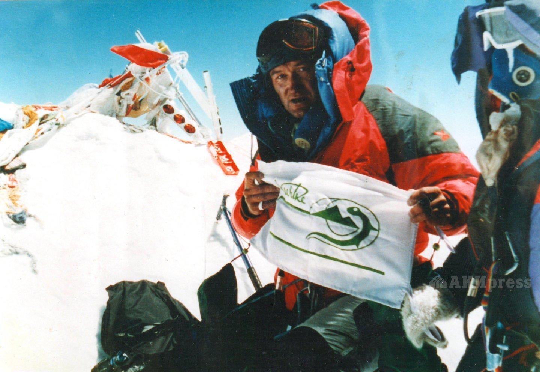 Дмитрий Греков - первый кыргызстанец на вершине Эвереста