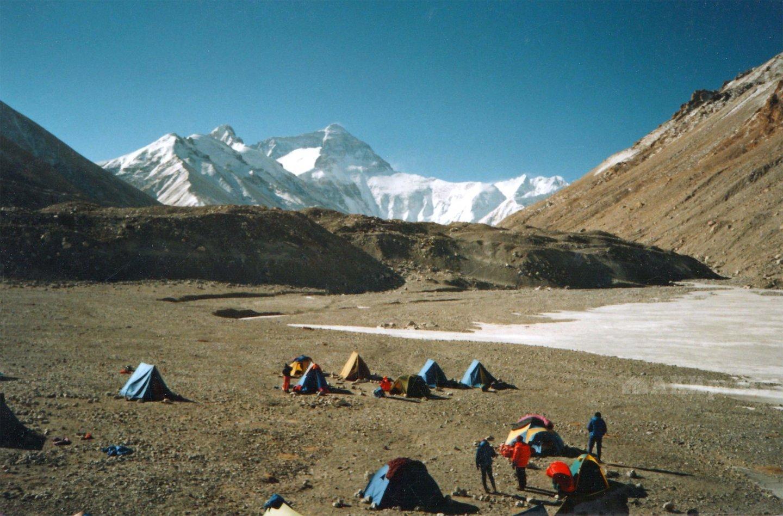 Эверест. Базовый лагерь / Фото: Дмитрий Греков