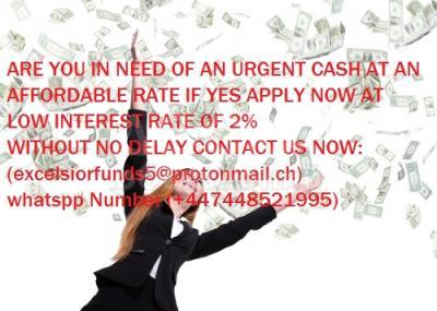 Do you need financial aid, are you seriously in need of an urgent loan, to start up your own business