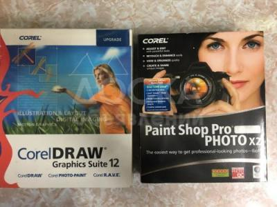 Оригинал: Corel Draw GS12, Paint Shop Pro Photo X2 (Corel)