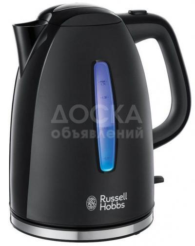 8290 - Электрочайник RUSSEL-HOBBS 22591-70 Texture Plus Black Kettle