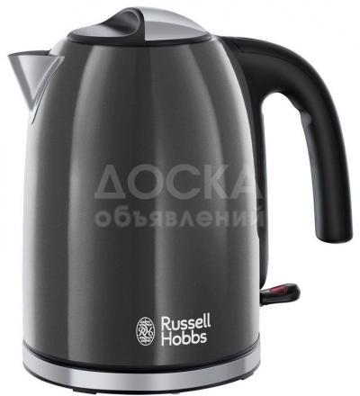 9441 - Электрочайник RUSSELL HOBBS 20414-70 Colors + Kettle Grey
