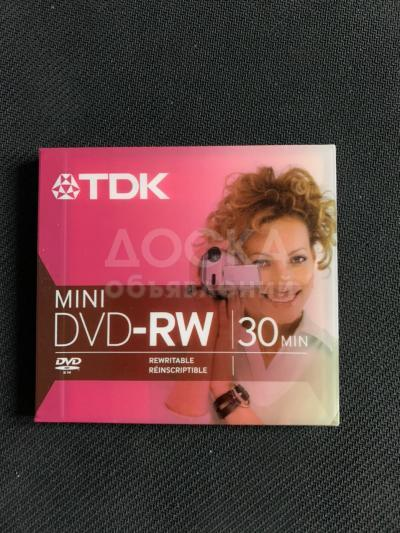 Mini DVD-RW Disk TDK 1.4 Gb 2x Scratch Proof