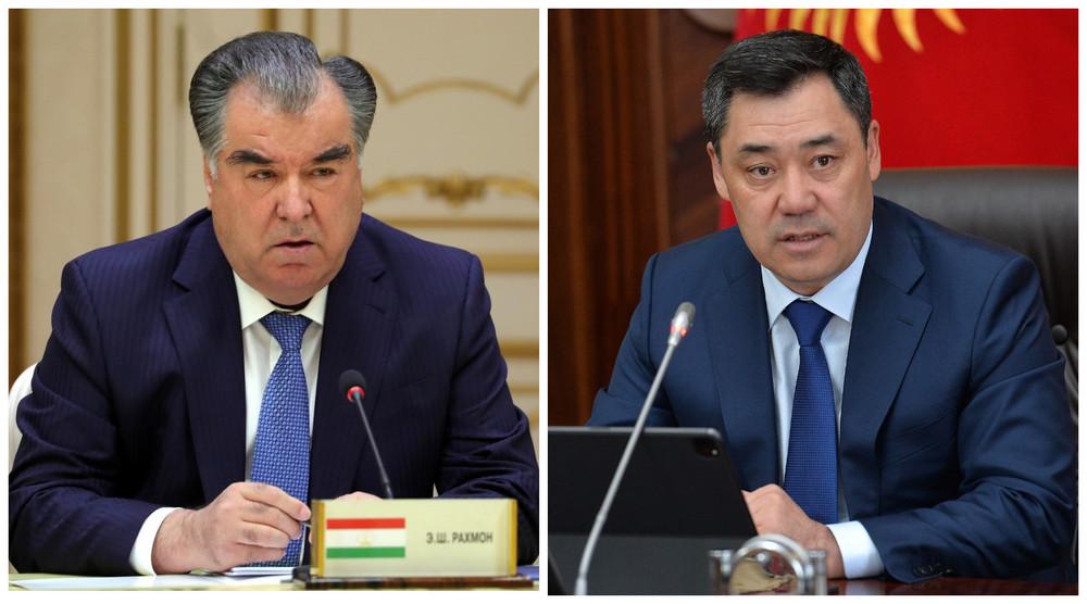 Рахмон и Жапаров встретятся в Душанбе