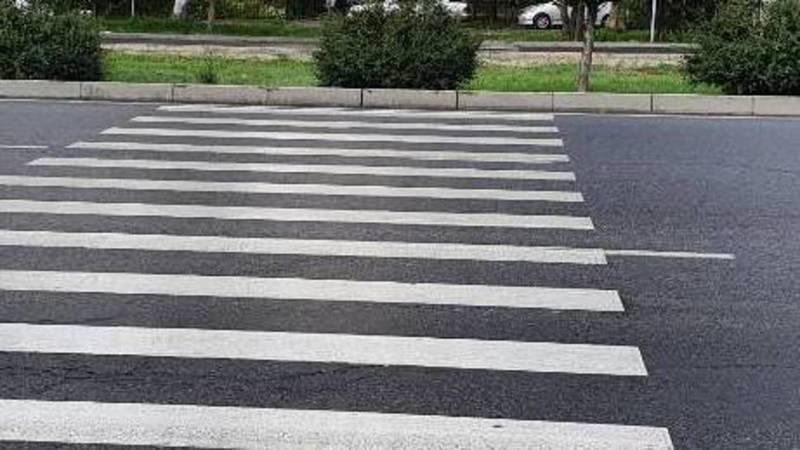 Правильно ли начертили зебру через дорогу по Южной магистрали? - горожанин