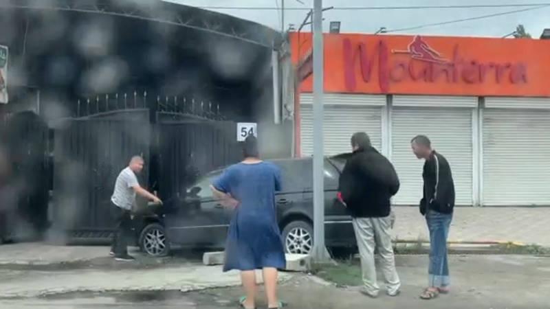 ДТП в Кок-Жаре с участием четырех авто. Видео очевидца