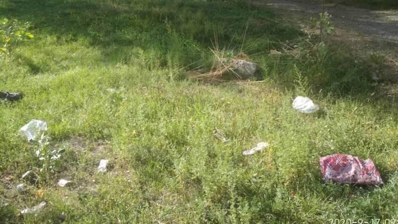 Сквер вокруг кинотеатра «Манас» завален мусором, - горожанин