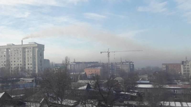 Смог в Бишкеке глазами жителя Аламедин-1