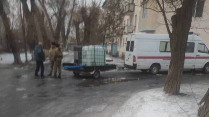 В домах МЧС в Беловодске четвертый день нет воды, - местная жительница