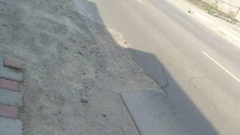Когда в Чон-Арыке восстановят дорогу, испорченную во время подключения газа? - местный житель