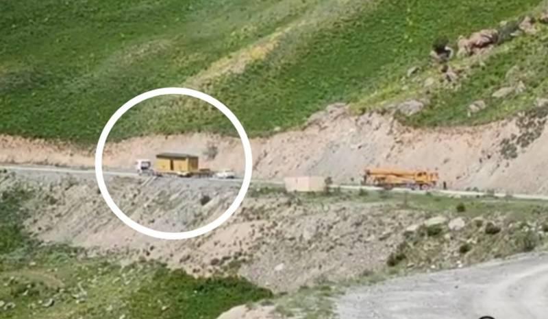 Таджикская сторона убрала контейнер с границы в Чон-Алае
