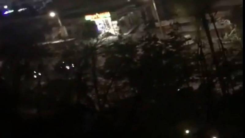 На ул.Юнусалиева во время комендантского часа устраивают уличные гонки. Видео