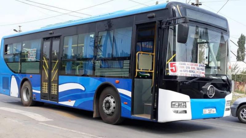 Почему автобус №5 не едет до перекрестка Ахунбаева - 7 апреля? - горожанин