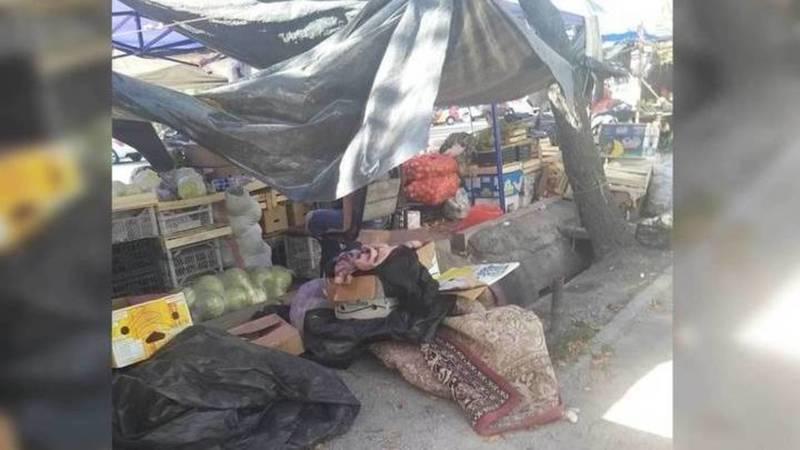 Мэрия прокомментировала вопрос о стихийной торговле по ул.Ауэзова