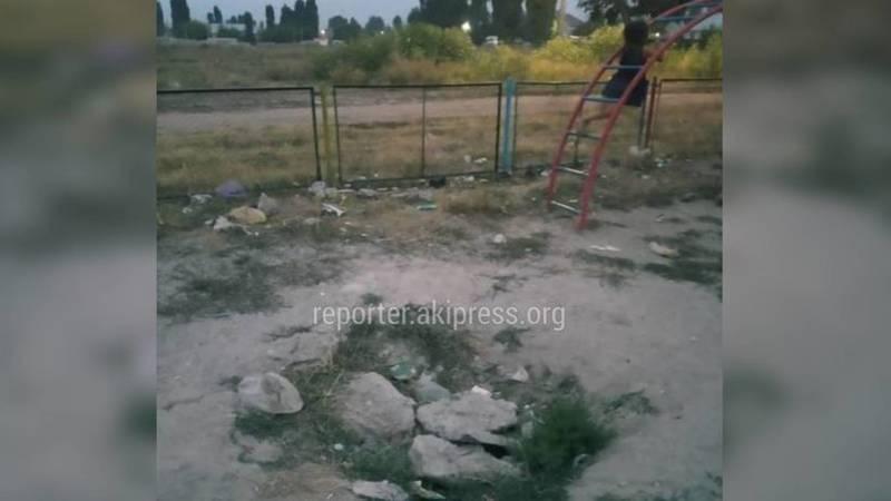 Детская площадка в Ак-Босого не подлежит реконструкции, был подготовлен проект строительства, - мэрия