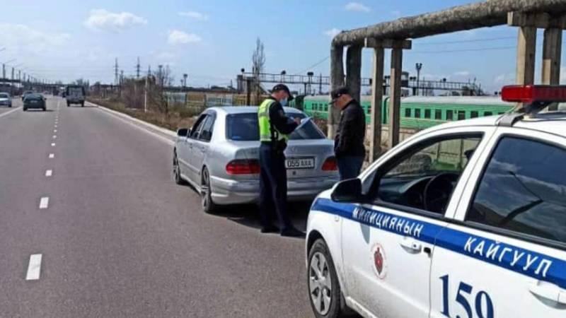 Дрифтовавший водитель «Мерседеса» оштрафован на 7,5 тыс. сомов, - УПСМ