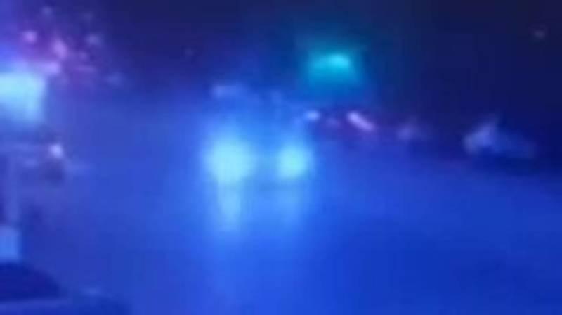 Момент аварии на Алматинке, в которой пострадали 3 человека, попал на видео