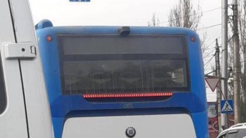 В Бишкеке замечен автобус, у которого 198,5 тыс. сомов штрафов. Фото