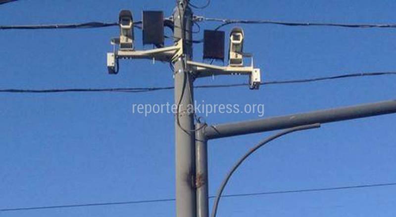 Фото — На перекрестке Чуй-Курманжан Датки установили камеры