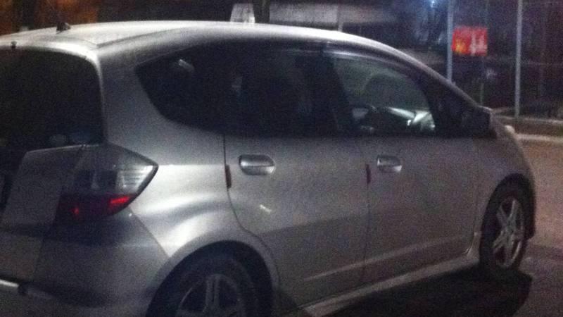 В Бишкеке зафиксирована праворульная «Хонда», которую регистрировали как леворульную. Фото